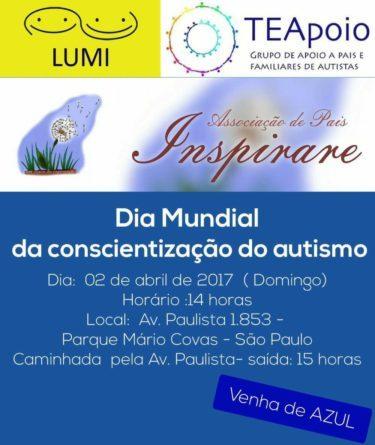 Dia Mundial Consciencia Autismo