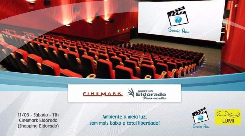 Sessão Azul no Cinemark em 11/03